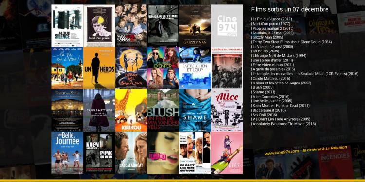 Films sortis un 07 décembre