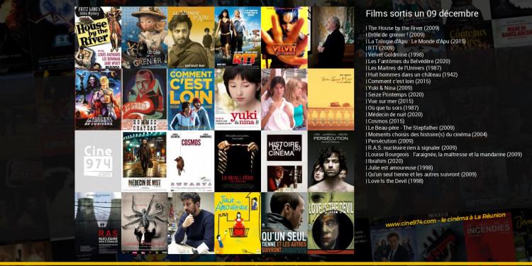 Films sortis un 09 décembre