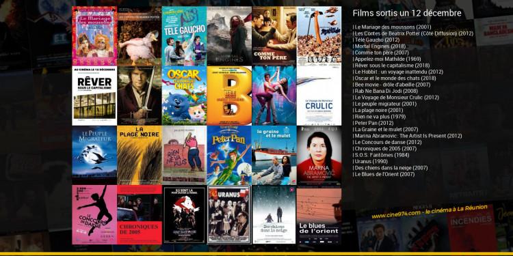 Films sortis un 12 décembre