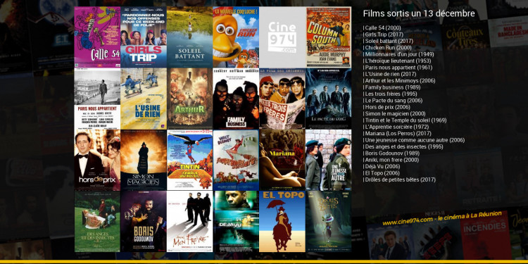 Films sortis un 13 décembre