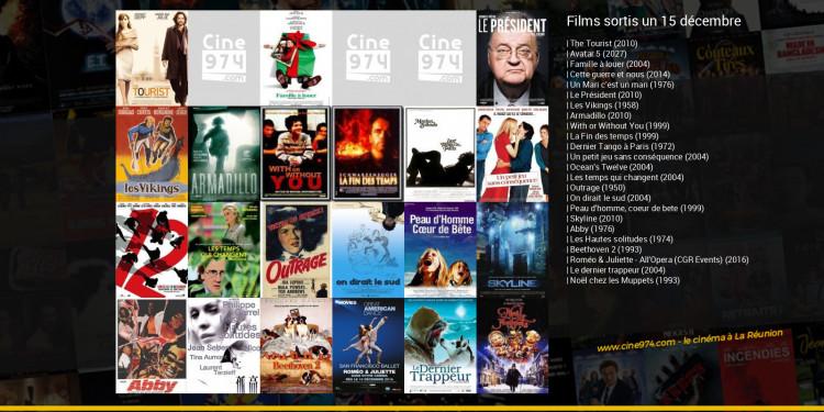 Films sortis un 15 décembre