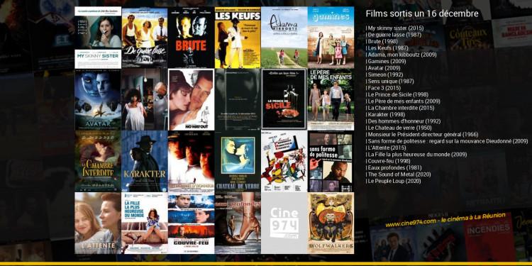 Films sortis un 16 décembre