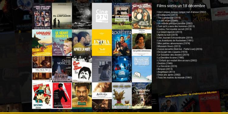 Films sortis un 18 décembre