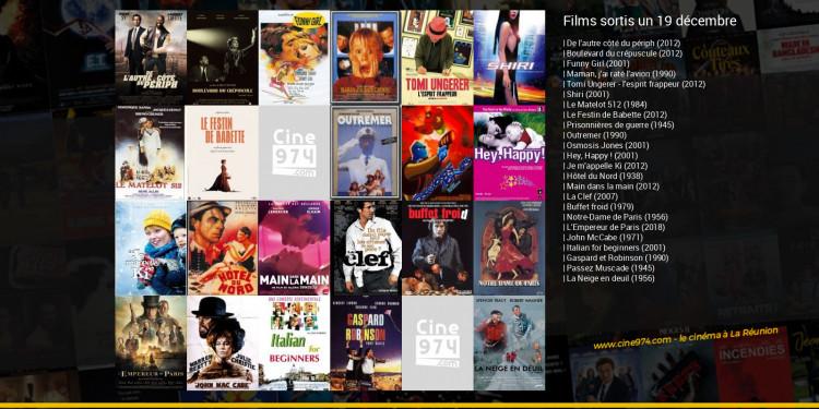 Films sortis un 19 décembre