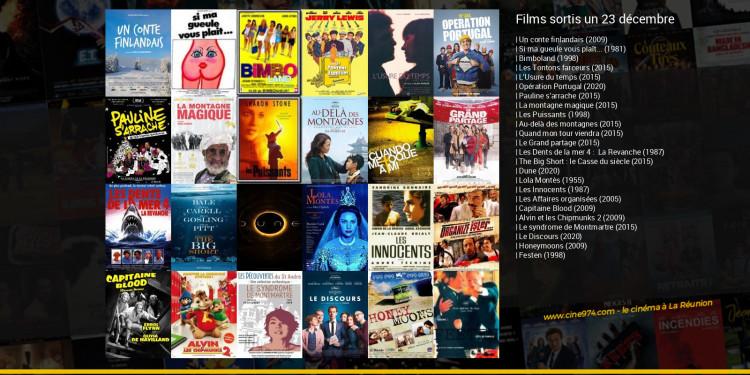 Films sortis un 23 décembre