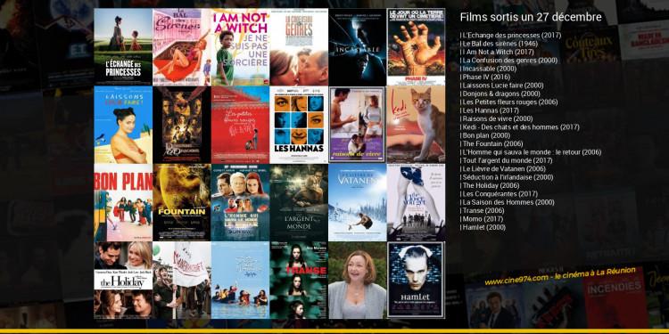 Films sortis un 27 décembre