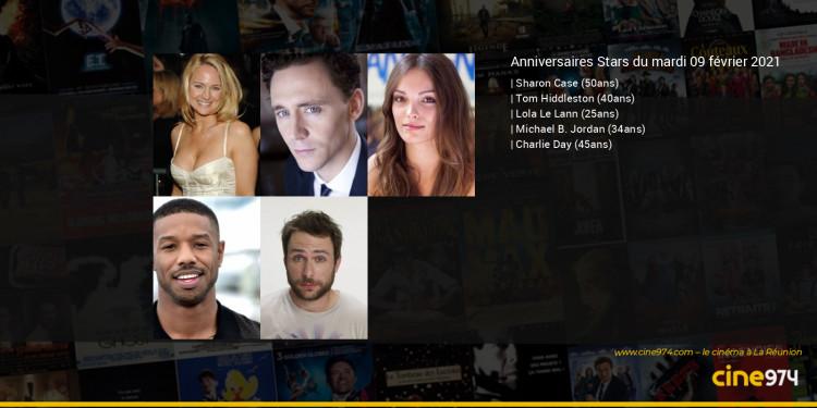 Anniversaires des acteurs du mardi 09 février 2021