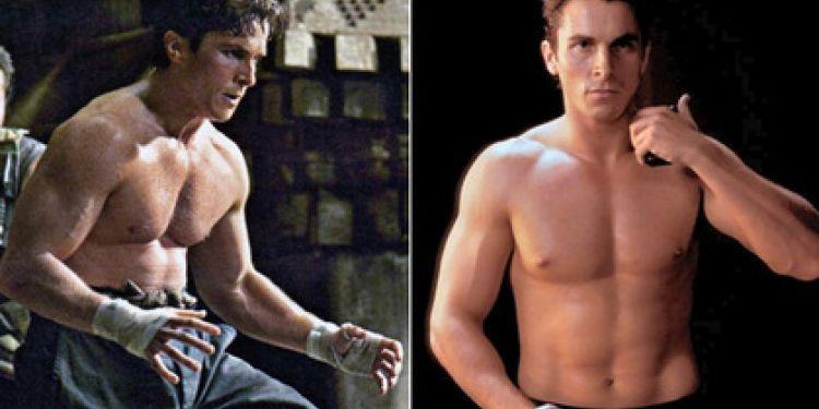 7 transformations physique de Christian Bale pour un rôle.