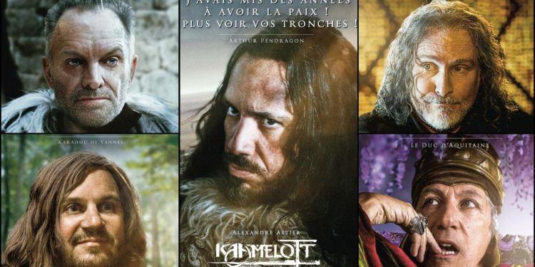 Alexandre Astier publié une série d'affiche pour Kaamelott.