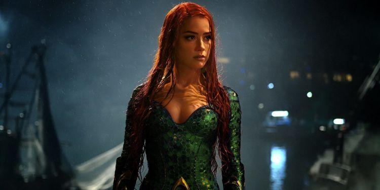 Amber Heard sera bel et bien au casting d'Aquaman 2.