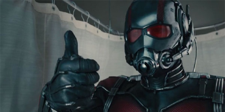 Ant-man dans Captain America : Civil War