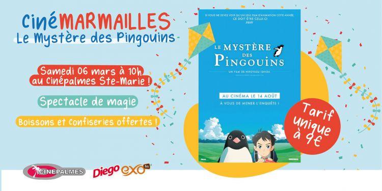 CinéMARMAILLES : Le Mystère des Pingouins