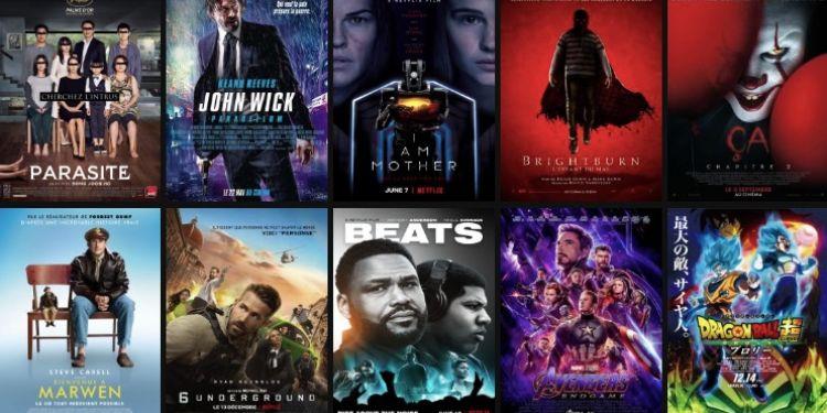 Classement du TOP films 2019 à La Réunion