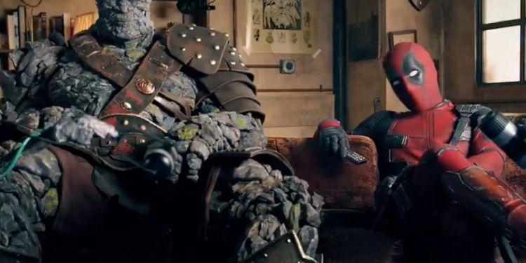 Deadpool et Korg font la promotion de Free Guy.