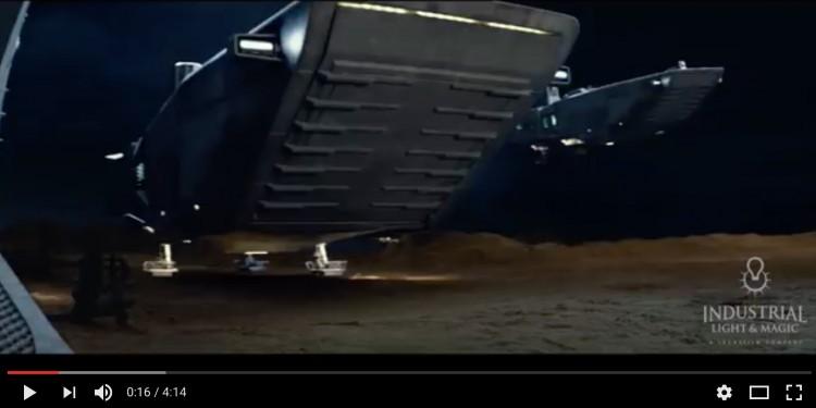Effets spéciaux de Star Wars ; le reveil de la force