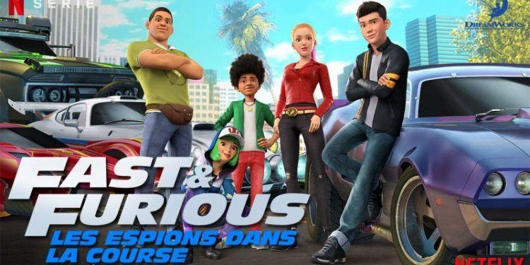 Fast & Furious : Les Espions Dans La Course, la saison 5 dès aujourd'hui sur Netflix