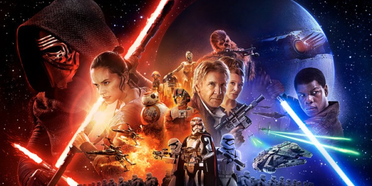 L'actu de la semaine est... sans surprise... la sortie de Star Wars, le réveil de la Force.