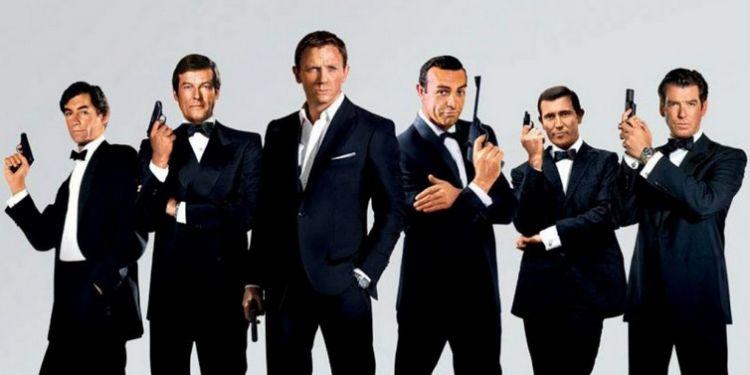 L'intégrale de James Bond bientôt disponible sur Salto.