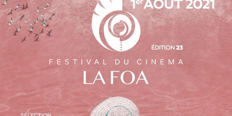 News Cinéma La 23ème édition du Festival du cinéma de La Foa du 23 juillet au 1 août 2021