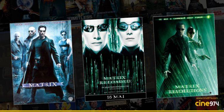 La trilogie MATRIX débarque au Multiplexe Ciné Cambaie