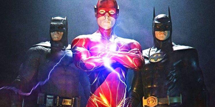 Le metteur en scène de The Flash tease une photo du costume de Batman.