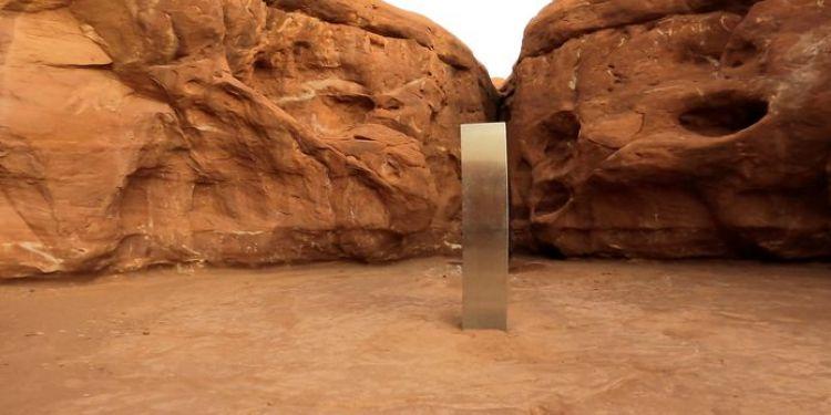 Le monolithe découvert en Utah a disparu.