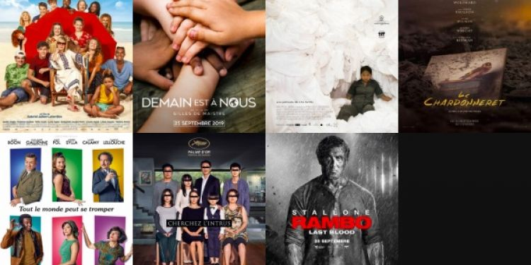 Le programme et les sorties cinéma du mercredi 8 septembre 8 à