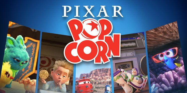 Les héros de Pixar de retour dans cette compilation intitulée Pixar Popcorn.