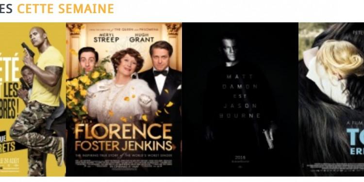 Les sorties cinéma du mercredi 24 août à La Réunion
