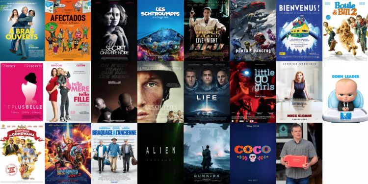 Les sorties de la semaine et prochainement au cinéma à La Réunion