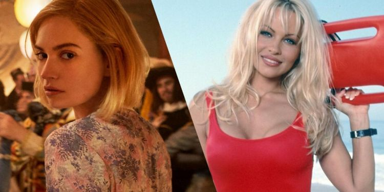 Lily James va incarner Pamela Anderson dans son Biopic en mini série.