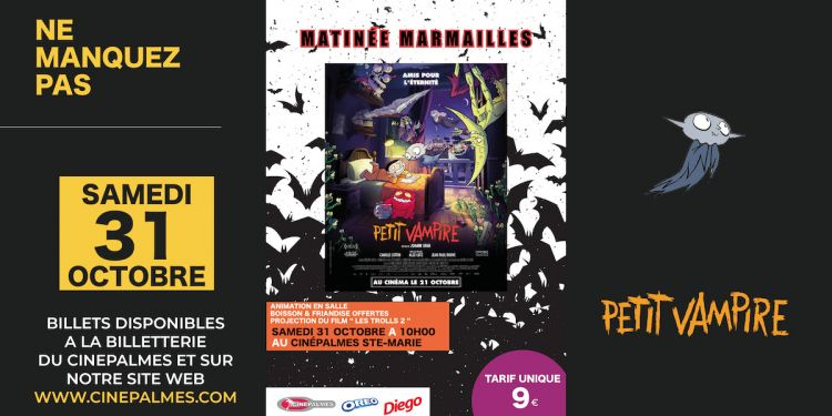 Matinée Marmailles : Petit Vampire