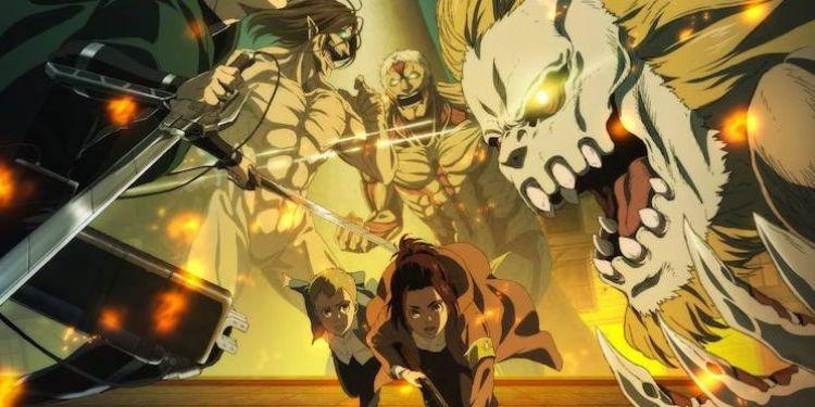 On a regardé L'attaque des Titans saison 4. (Sans Spoilers)