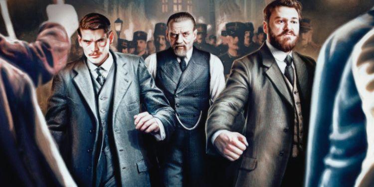 Paris Police 1900 la série originale Canal+ sortira en février.