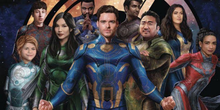 Première bande annonce pour the Eternals de Marvel.