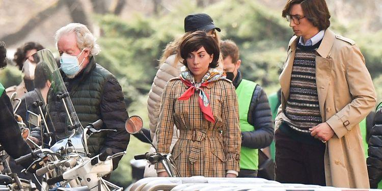 Première image de Gucci avec Lady Gaga et Adam Driver