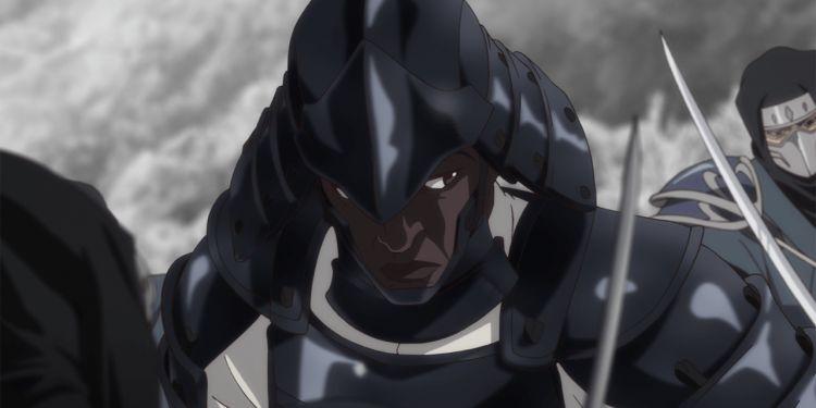Premières images de Yasuke, le samouraï noir de Netflix.