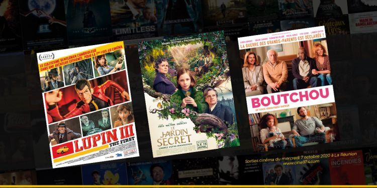 Programme cinéma du 7 octobre 2020 à La Réunion