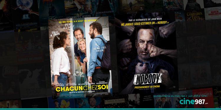 News Cinéma Programme et sorties cinéma du mercredi 2 juin 2021 à Tahiti