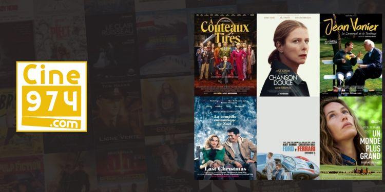 Programme et sorties cinéma du mercredi 27 novembre 2019 à la Réunion