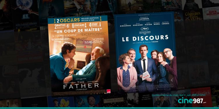 News Cinéma Programme et sorties cinéma du mercredi 9 juin 2021 à Tahiti