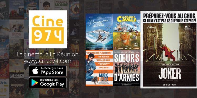 Programme et sorties cinéma du mercredi 9 octobre 2019 à la Réunion
