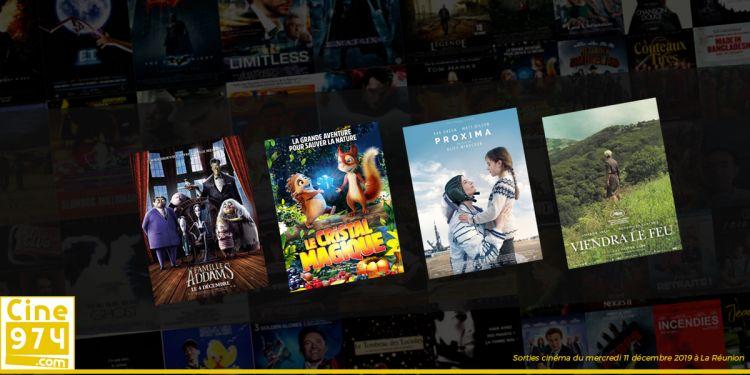 Programme et Sorties de la semaine du mercredi 11 décembre 2019 au cinéma à La Réunion