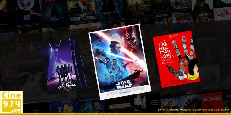 Programme et Sorties de la semaine du mercredi 18 décembre 2019 au cinéma à La Réunion