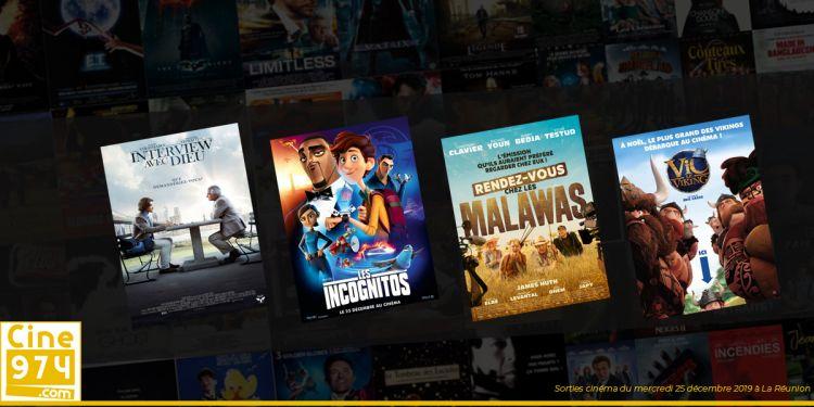 Programme et Sorties de la semaine du mercredi 25 décembre 2019 au cinéma à La Réunion