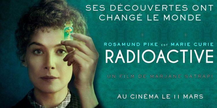 Radioactive, le biopic de Marie Curie pour la première fois à la télévision.
