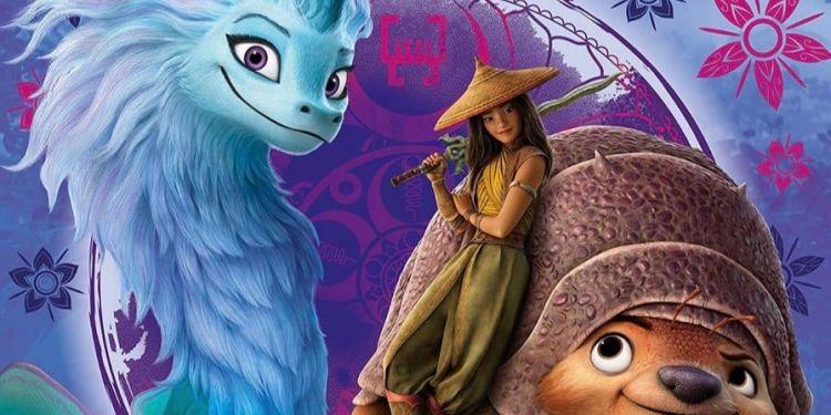 Raya et le dernier dragon sortira directement sur Disney +
