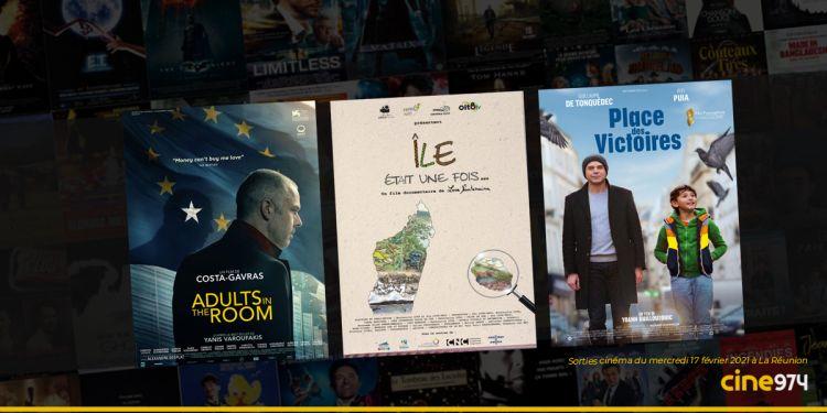 Sorties cinéma à La Réunion ce mercredi 17 février 2021