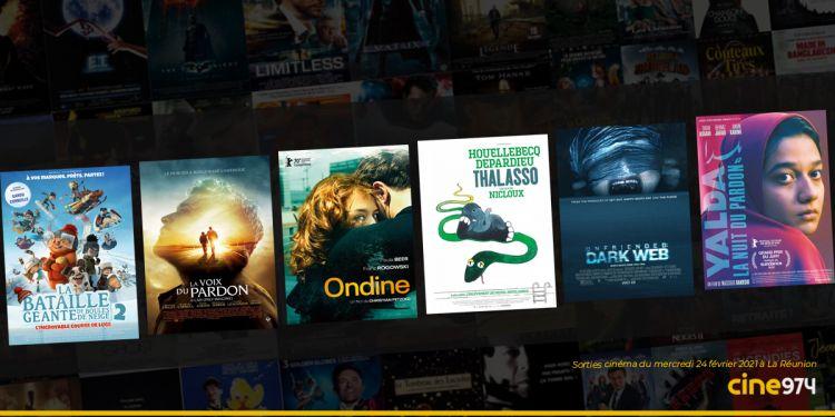 Sorties cinéma à La Réunion ce mercredi 24 février 2021