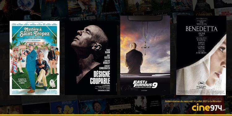 Sorties cinéma de la semaine du mercredi 14 juillet à La Réunion 🇷🇪
